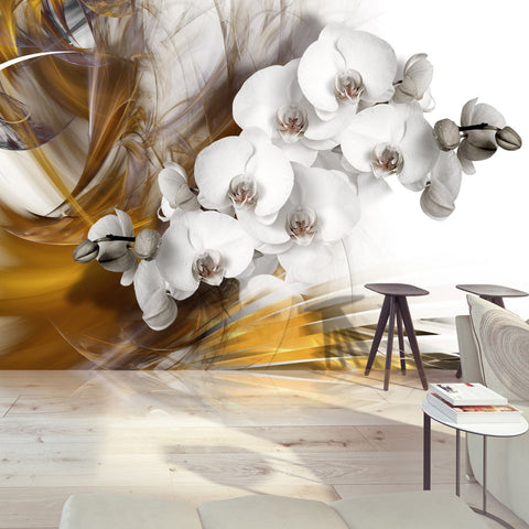 Wallpaper - Orchid on fire