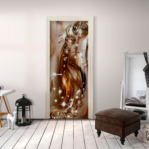Photo wallpaper on the door - Photo wallpaper – Abstraction I