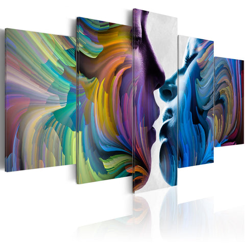 Canvas Print - Kiss of Colours