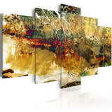 Canvas Print - garden: abstract