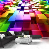 Wallpaper - Colored Cubes
