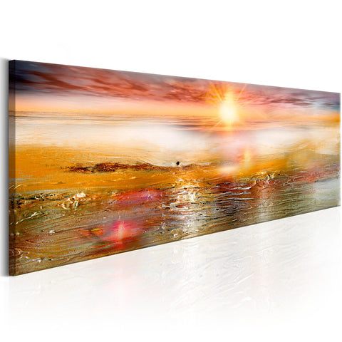 Canvas Print - Orange Sea