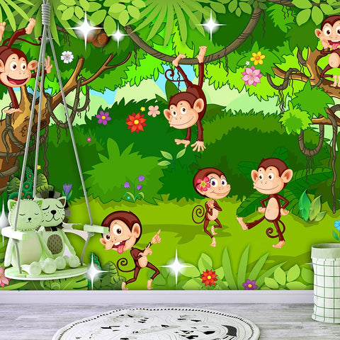 Wallpaper - Monkey Tricks