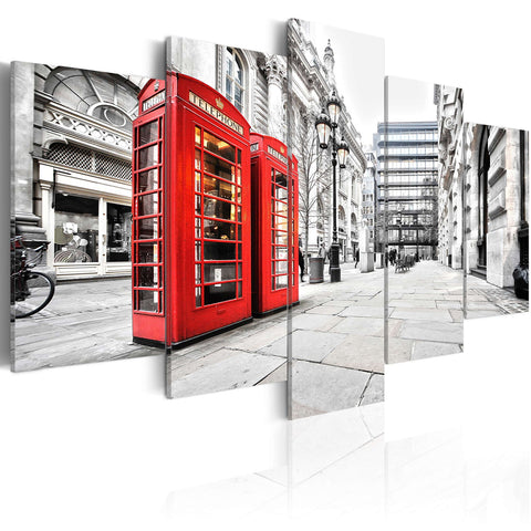 Canvas Print - Street of London
