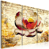 Canvas Print - Retro flower