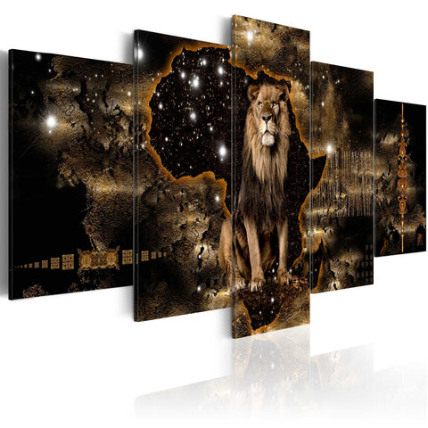 Canvas Print - Golden Lion