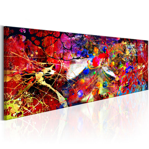 Canvas Print - Red Forest