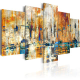 Canvas Print - Memory of the City