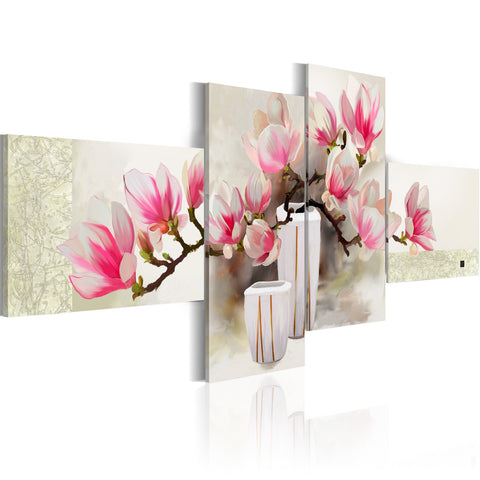 Handmade painting - Fragrance of magnolias
