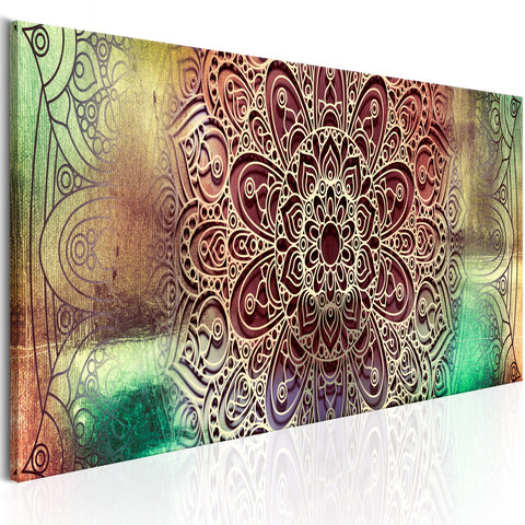 Canvas Print - Colourful Mandala