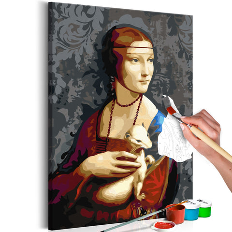 DIY canvas painting - Famous Portrait