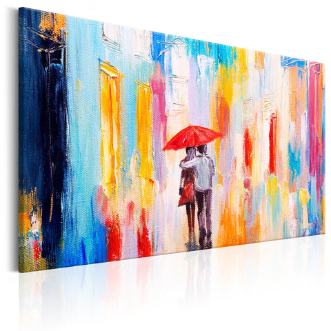 Canvas Print - Under the Love Umbrella