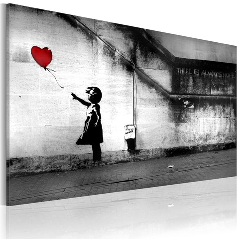 Canvas Print - hope (Banksy)