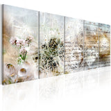 Canvas Print - Abstract Dandelions I