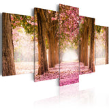 Canvas Print - Pink alley