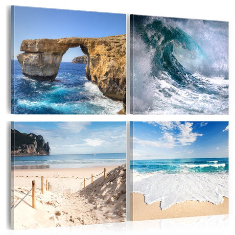 Canvas Print -  The Beauty of the Ocean