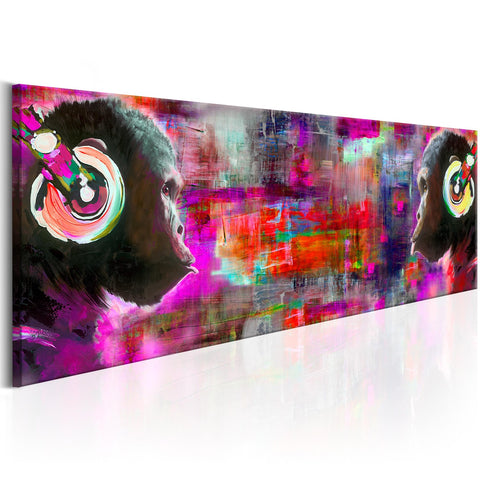 Canvas Print - Colours of Music