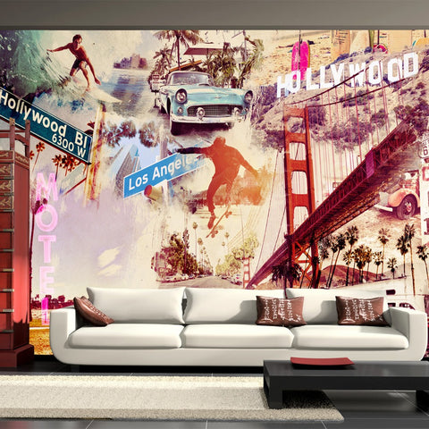 Wallpaper - Hollywood, Miami, Los Angeles...