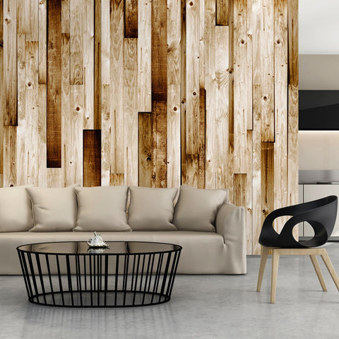 Wallpaper - Wooden boards