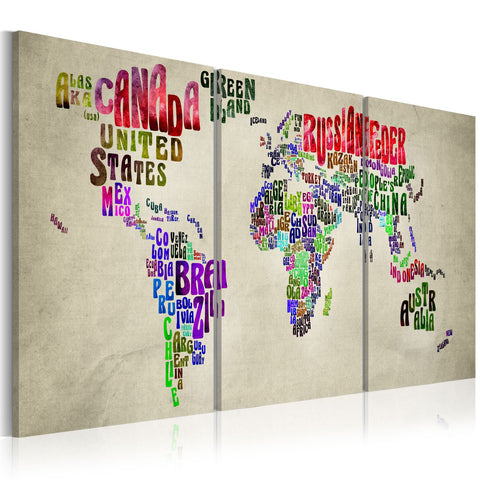 Canvas Print - Geography lesson