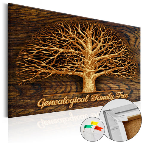 Decorative Pinboard - Family Tree [Corkboard]