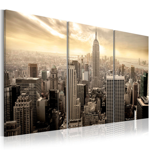 Canvas Print - Good morning NYC!
