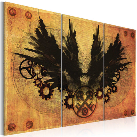 Canvas Print - Mechanical wings
