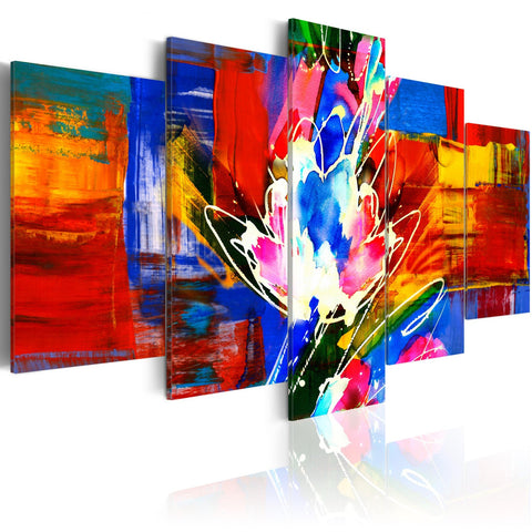 Canvas Print - Power of Colours