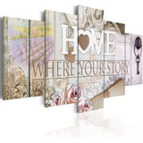 Canvas Print - Home...