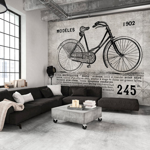 Wallpaper - Bicycle (Vintage)