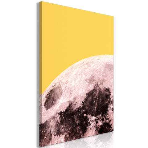 Canvas Print - Sunny Moon (1 Part) Vertical