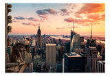 Wallpaper - New York: The skyscrapers and sunset