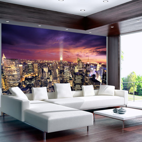Wallpaper - Evening in New York City