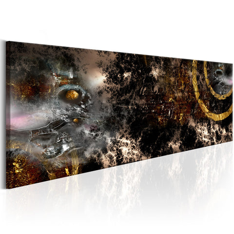 Canvas Print - Golden Galaxy