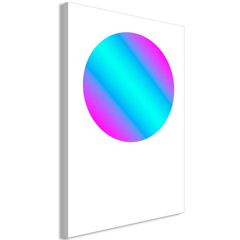 Canvas Print - Circle Gradient (1 Part) Vertical
