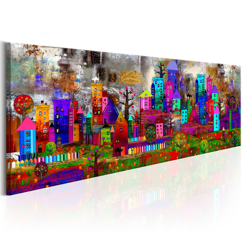Canvas Print - Fantasy City