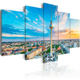 Canvas Print - Berlin TV Tower, Germany