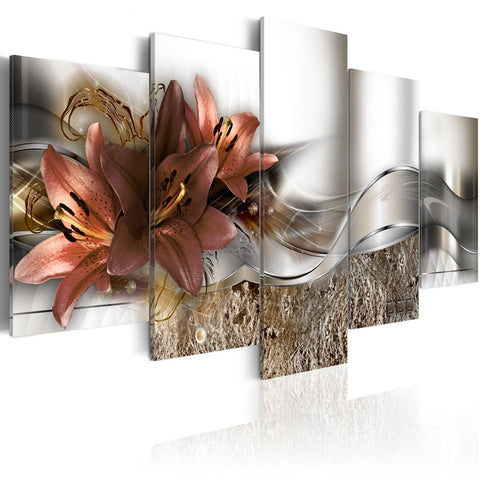Canvas Print - Lily Marsala and Abstraction