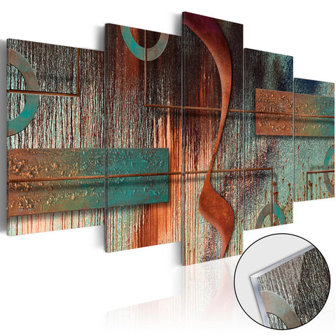 Acrylic Print - Abstract Melody [Glass]