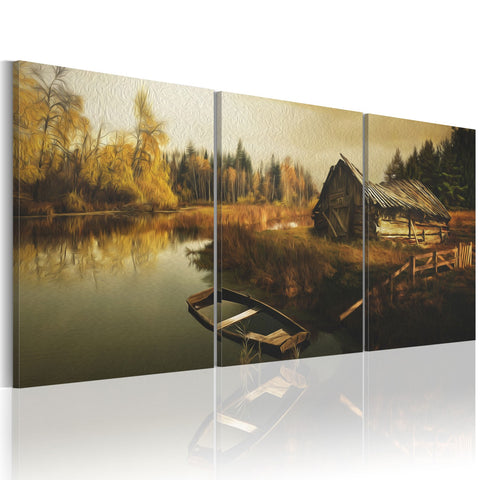 Canvas Print - Out-of-the-way hut