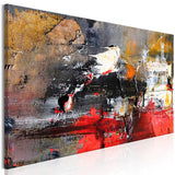 Canvas Print - Fiery Rush (1 Part) Narrow