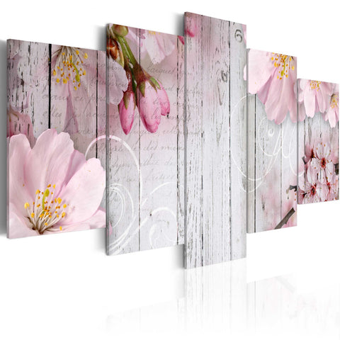 Canvas Print - Subtlety of Flowers