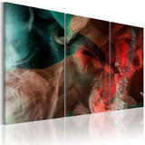 Canvas Print - Drifting colors