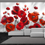 Wallpaper - Poppies in the Moonlight