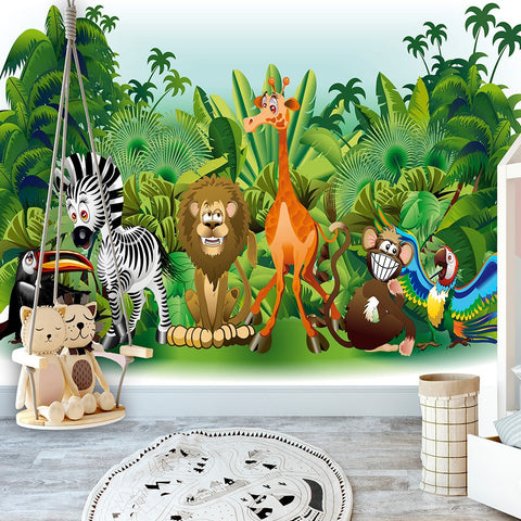 Wallpaper - Jungle Animals