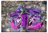 Wallpaper - Graffiti spray can