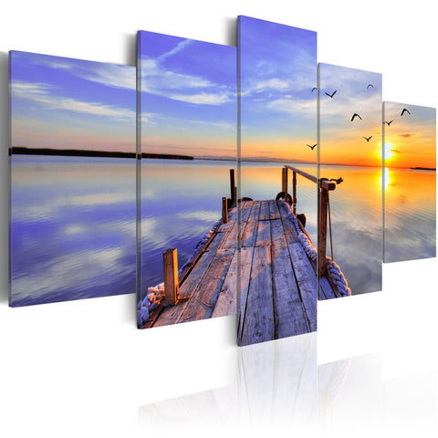 Canvas Print - Summer Harbor