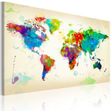 Canvas Print - All colors of the World