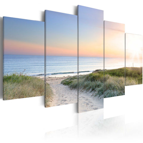 Canvas Print - Baltic Sea in the morning