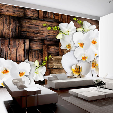 Wallpaper - Blooming orchids